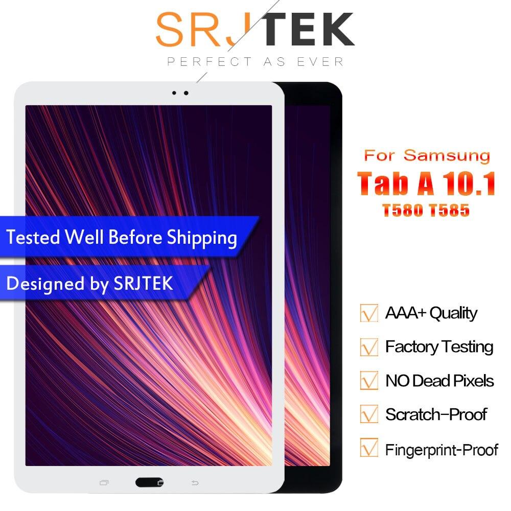 SM T580 LCD pour Samsung Galaxy Tab A 10.1 SM-T580 écran SM-T585 LCD matrice écran tactile T585 numériseur assemblée remplacement
