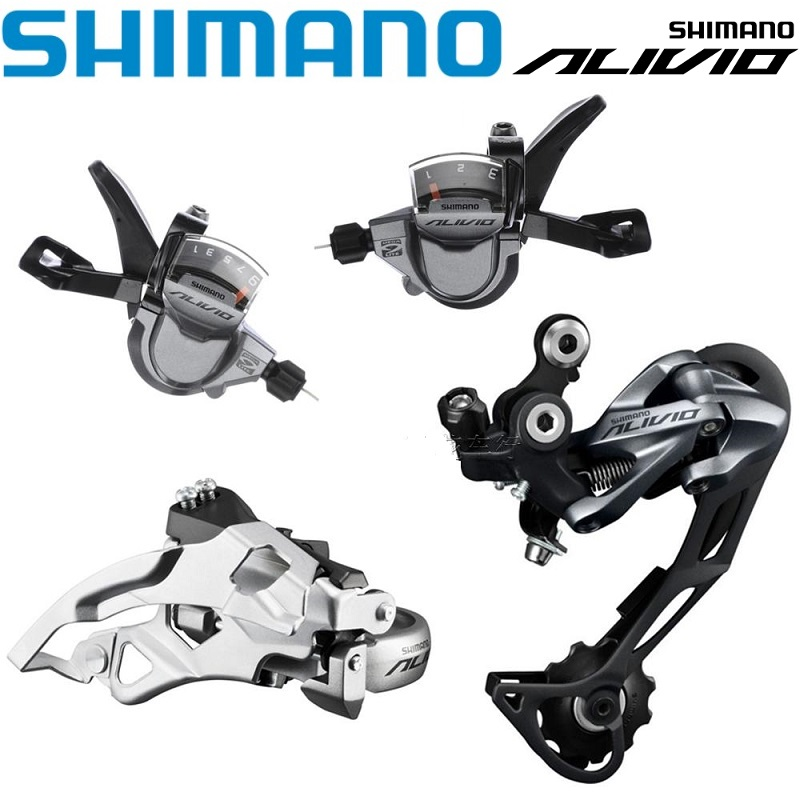 SHIMANO ALIVIO M4000 Bicycle Derailleur 3* 9 / 27 Speed Shift Lever / Rear / Front Derailleur MTB Mountain Bike Shifter Part