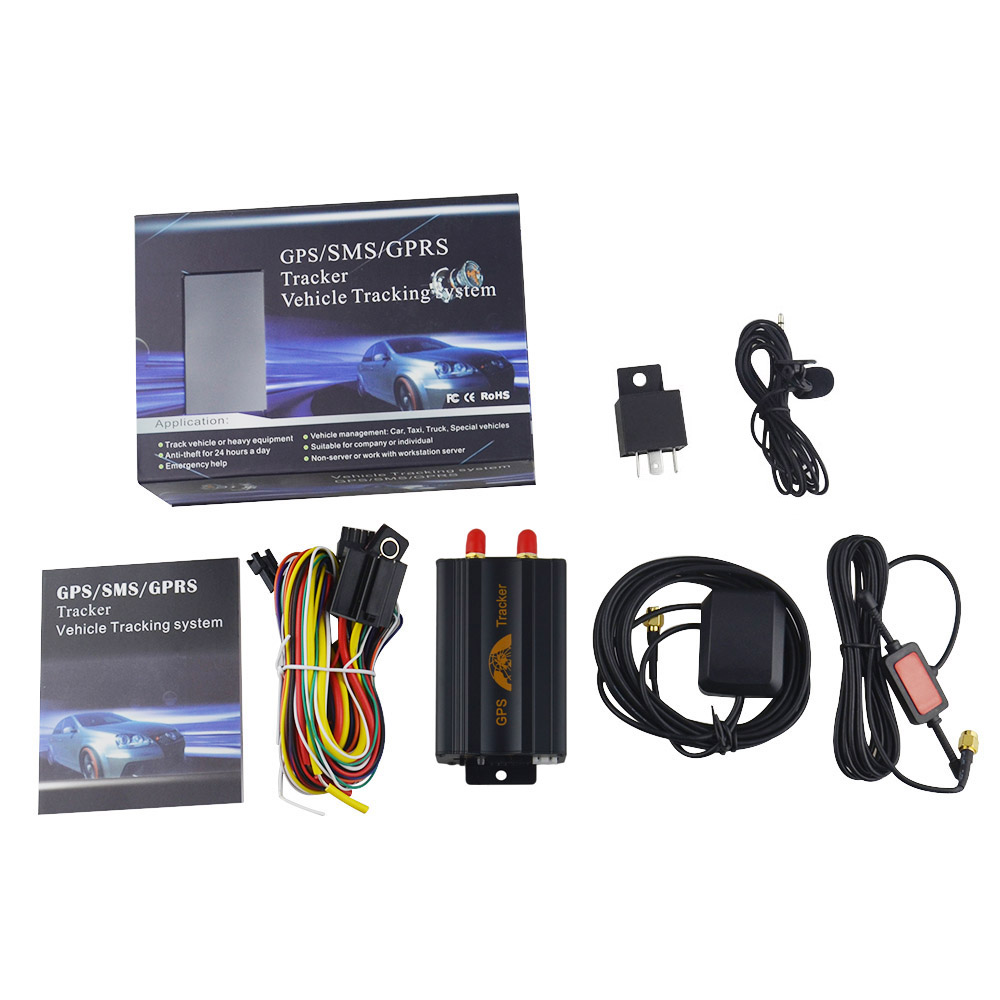 DHL FAST SHIP!10PCS Coban GSM GPS Tracker GPS103A TK103A for Vehicle,with Box