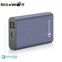 BlitzWolf BW P3 Original Universal 10000mAh 18W QC3.0 Quick Phone Charger 3.0 Dual USB Port Power Bank External Battery