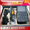 F01940 Satlink WS-6906 DVB-S FTA Digital Satellite Finder Medidor Sinal de TV Receiver ws6906 Para definir & alinhamento (1 pc 6906)