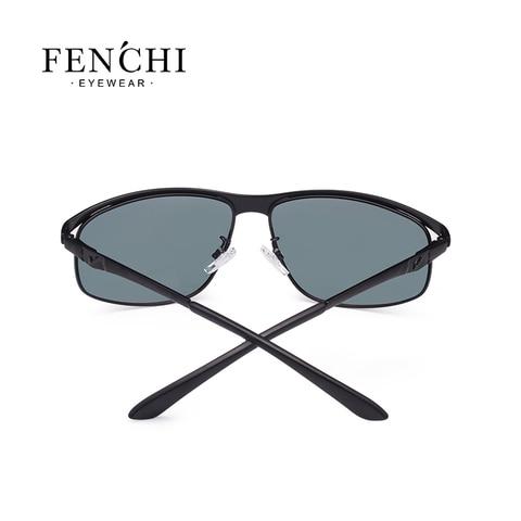 FENCHI Polarized Sunglasses Men Brand Designer New Fashion Metal Glasses Driving UV400 Sunglasses Eyewear Goggles Islamabad