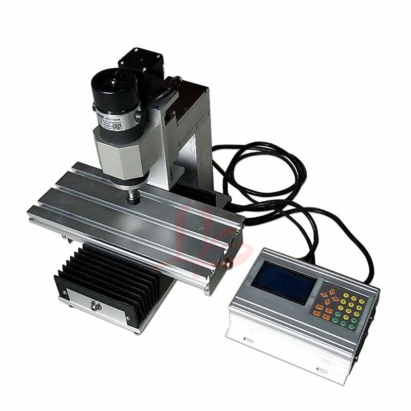 Vertical Mini Wood Router CNC 100*100 400W PCB Milling Engraving Machine