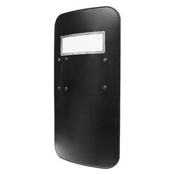 Safurance PC plástico táctico escudo Autoprotección de seguridad manual antidisturbios