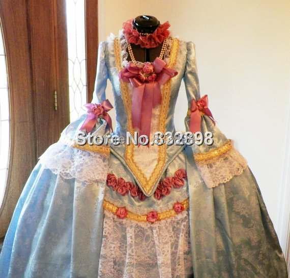Marie Antoinette Französisch Kolonial Beethoven Waltz Venedig - Damenbekleidung - Foto 4