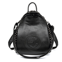 KYYSLO Luxury Lady Bags Backpack Korean classic fashion Women's Backpack travel Bag PU Leather High Quality student Backpack