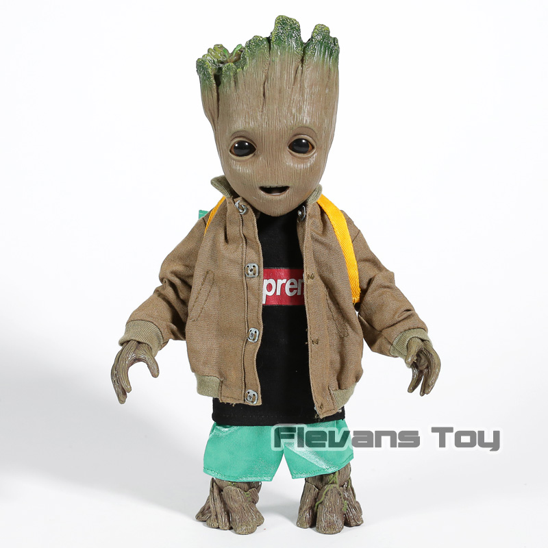 Hot Toys Guardians of the Galaxy The Tree Man 1 6 Scale PVC Action Figure Collectible