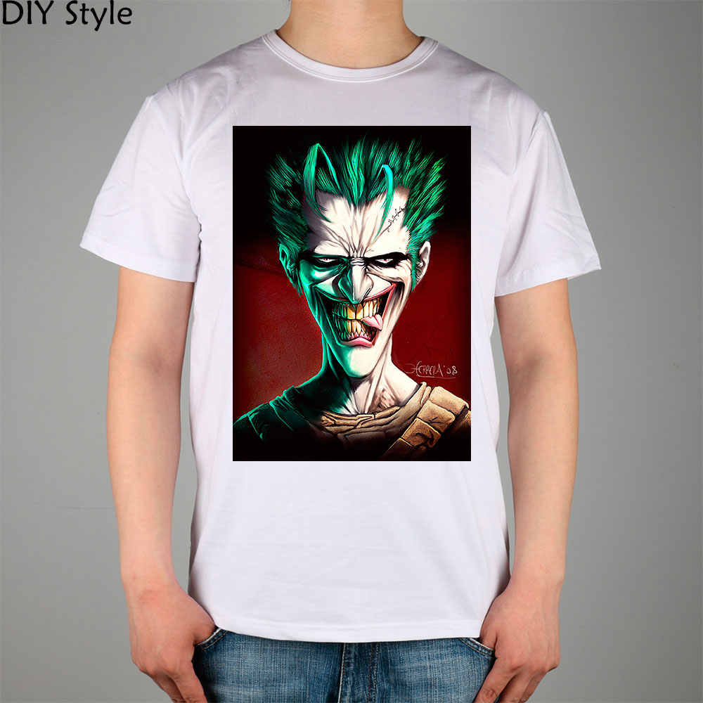 596456ba9 Detail Feedback Questions about why so serious JOKER T shirt Top ...
