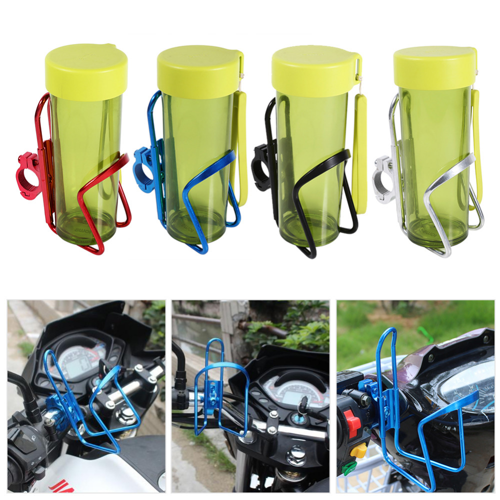 Car-Styling Motorcycle Motorbike Drink Cup Holder Water Beverage Support Handlebar Bottle Stand Adapter