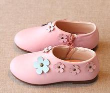 2016 autumn children's shoes flowers dance shoes girls fashion cute casual shoes