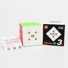 New upgrade English version QiYi Warrior W 3x3x3 Magic Cube Competition Speed Puzzle Cubes Toys cubo magico For Children Kids