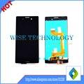 Negro color blanco para sony xperia m4 aqua e2303 e2333 e2353 pantalla táctil con digitalizador asamblea display lcd 1 pc/lot