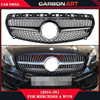 Abs Material Matt Black Replacement Grille Mercedes Car Parts A Class Auto Grill For Benz