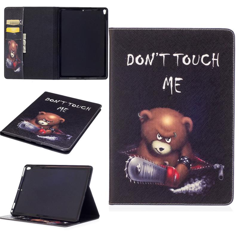 "Tablet Case Cover for Apple iPad Pro 10.5"" 2017 Cover Stand Holder Cute PU Leather Wallet Case Card Slot Case Coque Etui Funda"