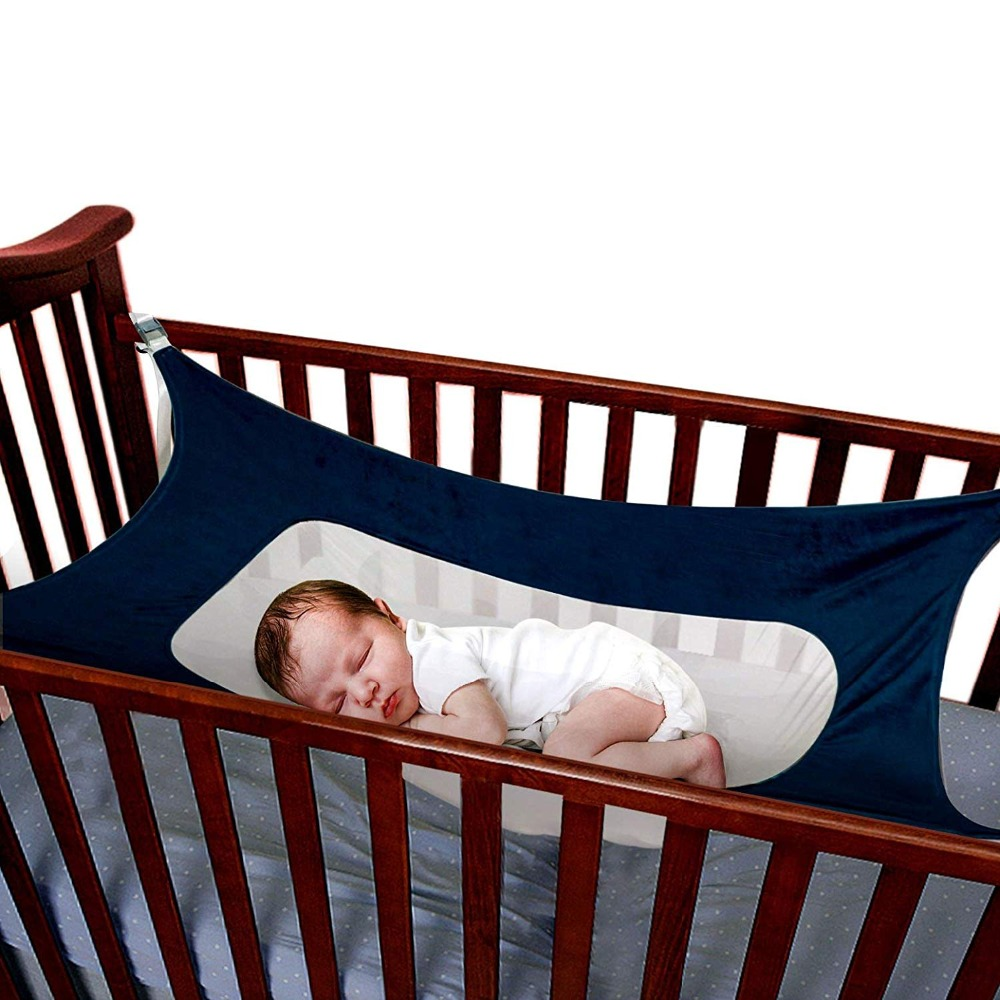 Bouncers,jumpers & Swings Safety Infant Baby Hammock Sleeping Swings For Newborn Nursery Beds Cribs Safe Detachable Elastic Hammock With Adjustable Net Activity & Gear