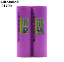 Liitokala 21700 li lon bateria 4000 mah 3.7 v 15a potência da taxa de descarga 5c ternary bateria de lítio do carro bateria elétrica diy