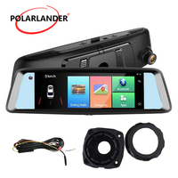A10 7 DVR Touch Screen WiFi Camera Video Drive Recorder 4G Android MP5/MP4/RMVB Bluetooth Rearview Mirror GPS FM Transmission