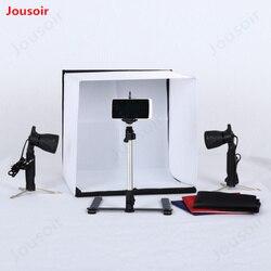 40cmx40cm/16inch*16inch Photo Studio Shooting Tent Light Square Soft box +portable bag + 4 Backdrops CD15