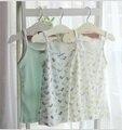 Alemanha Marca Topolino 2 pçs/lote Verão 100% algodão orgânico macio do bebê menina sem mangas t-shirt roupas para crianças meninas camisolas tanque