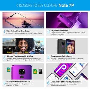 Image 5 - Ulefone Note 7P Thông Minh Android 9.0 4 Nhân 3500MAh 6.1 Inch Waterdrop Màn Hình 3GB + 32GB điện Thoại Di Động Mặt Mở Khóa
