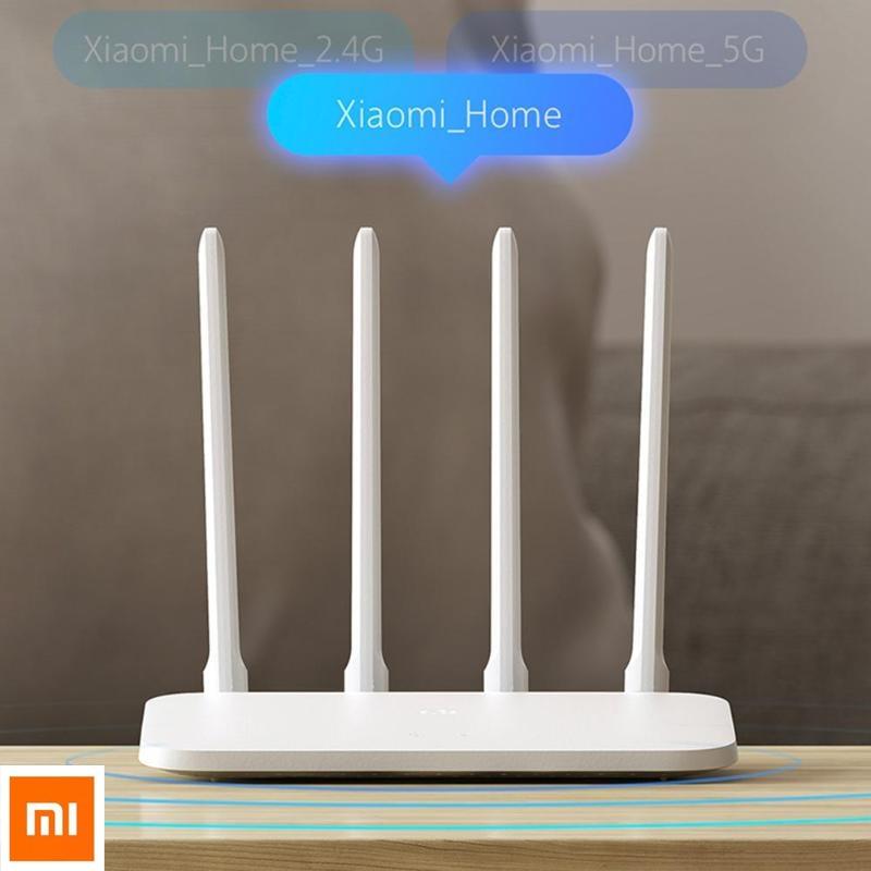 Xiao mi routeur 4A Gigabit Versio 2.4/5GHz routeur sans fil double bande MT7621A mi PS double noyau 880MHz 4 antennes répéteur Wifi