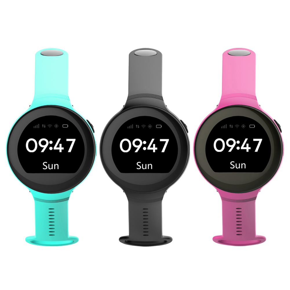 S668 Waterproof Smart Watch Round Screen Android Wristwatch GPS SOS Remote Monitoring for kids for iOS Android Smart Phone children gps smart watch q750 baby watch with wifi 1 54inch touch screen sos call location device kids watch phone montre f15