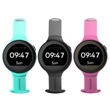 S668 Водонепроницаемый Смарт-часы Круглый Экран Android наручные GPS SOS удаленного мониторинга для детей для IOS Android смартфон