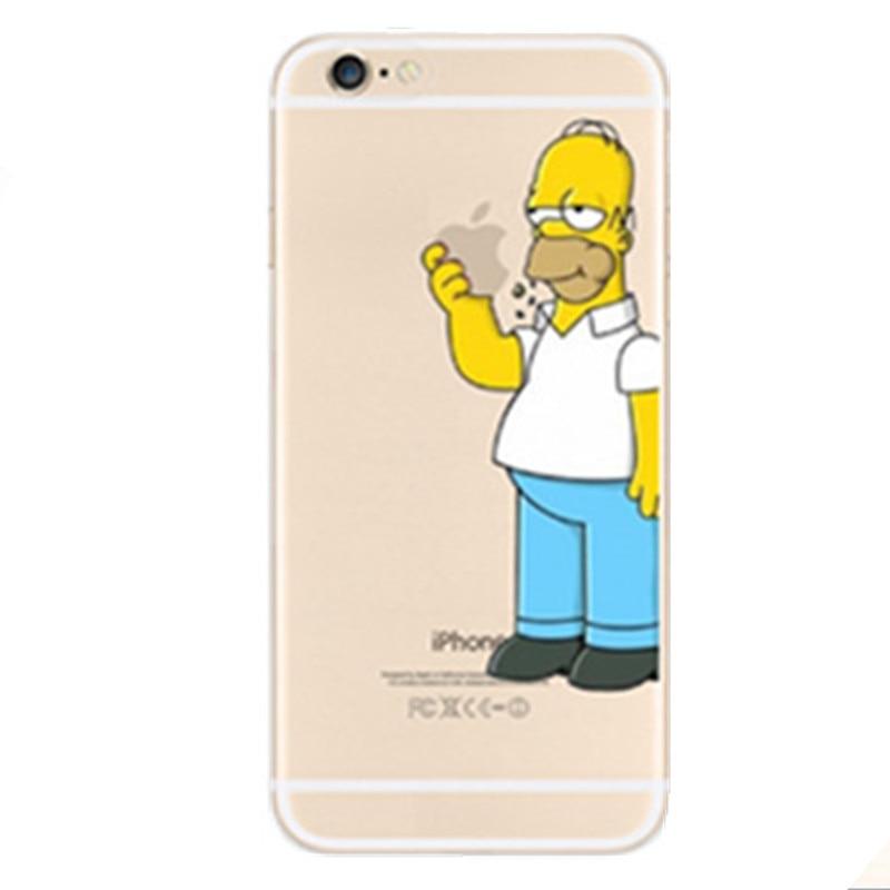 Coque Iphone Se Simpson