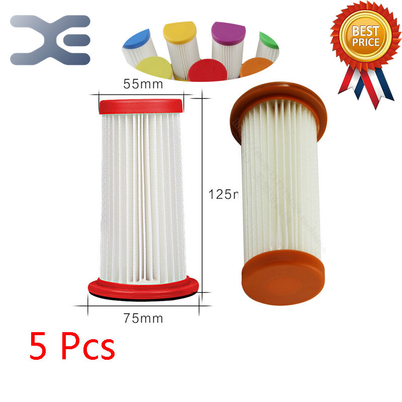 5Pcs Lot High Quality Fit For Philips Vacuum Cleaner Accessories Filter Filter FC8270 / 8262/8254 HEPA