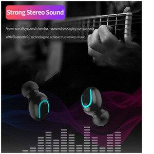 Image 2 - IPX5 su geçirmez bluetooth kulaklık 5.0 kablosuz Stereo sporcu kulaklığı gürültü oyun kulaklık güç kaynağı Tws sh *