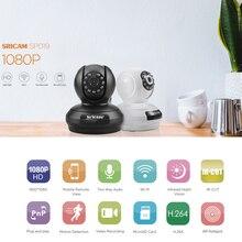 Sricam SP019 1080 P Drahtlose Ip-kamera H.264 WiFi Indoor Überwachungskamera P2P PT Unterstützung TF Karte Startseite Surveillance Cam