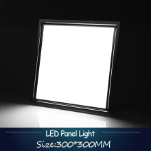 Ultra Thin Flat 20W LED Panel Light 300x300mm Square Lampada High Power Cold white Energy Savin Indoor Ceiling Lamp for Office