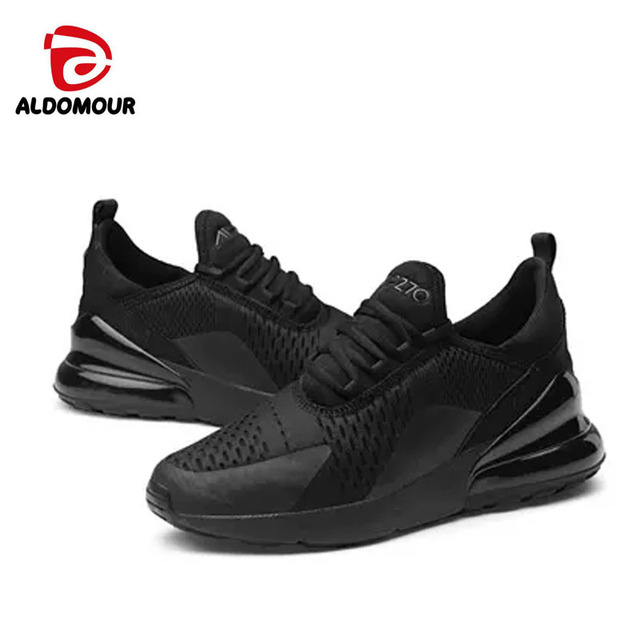 ALDOMOUR 2018 New Arrival men Sports Shoes running winter sneakers lace-up zapatillas mujer Breathable Lifestyle Size 39-47 ljl