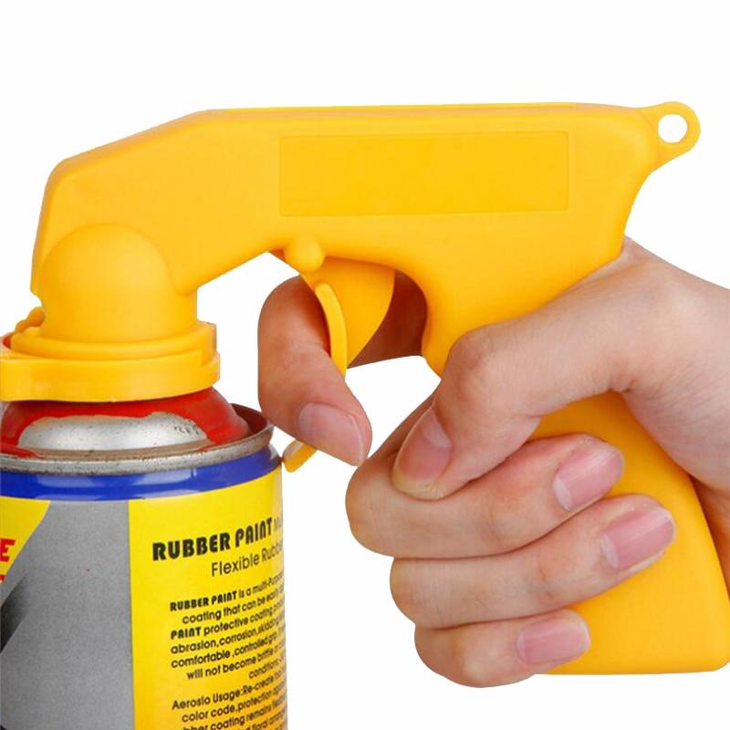 Gun-Handle Spray-Adaptor Paint-Tool Trigger Locking-Collar Car Maintenance Full-Grip