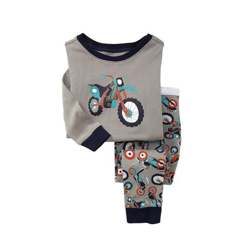 c54a514ca8e70 US $6.0 19% OFF|TINOLULING 21 design kids pajamas children sleepwear baby  pajamas sets boys girls animal pyjamas pijamas cotton nightwear-in Pajama  ...