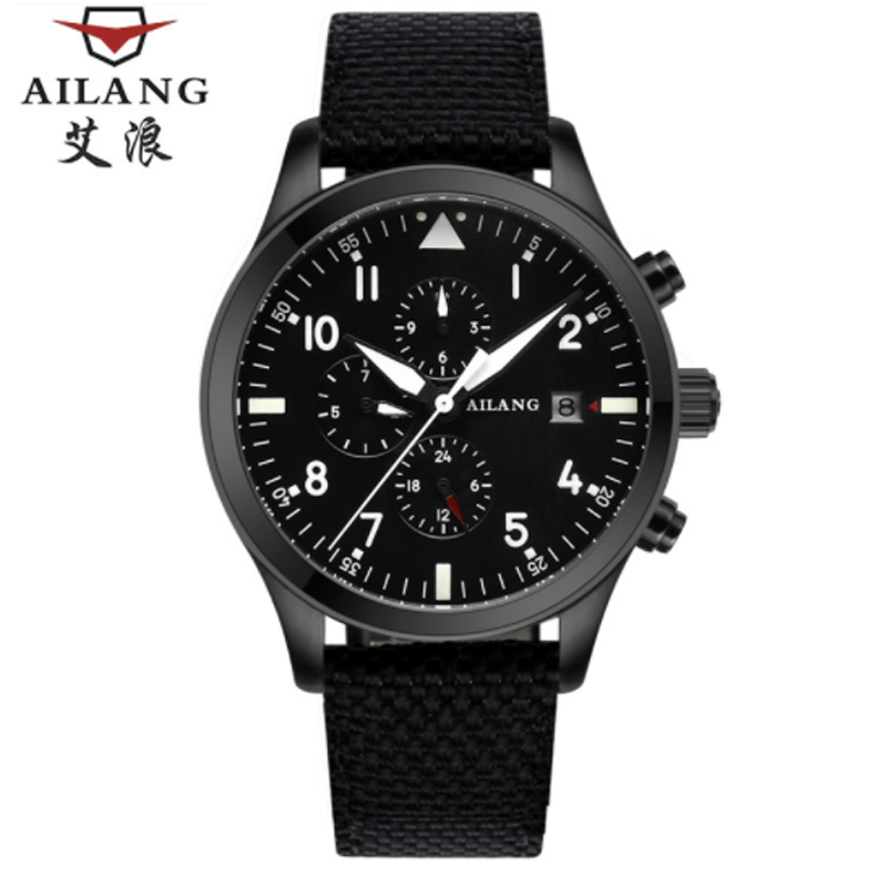 AiLang Luxury Brand Men's Watch Self-winding Mechanical Automatic Watch Men's Fashion Waterproof Men's Luminous Watch стоимость