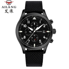 AiLang Luxury Brand Mens Watch Self-winding Mechanical Automatic Fashion Waterproof Luminous