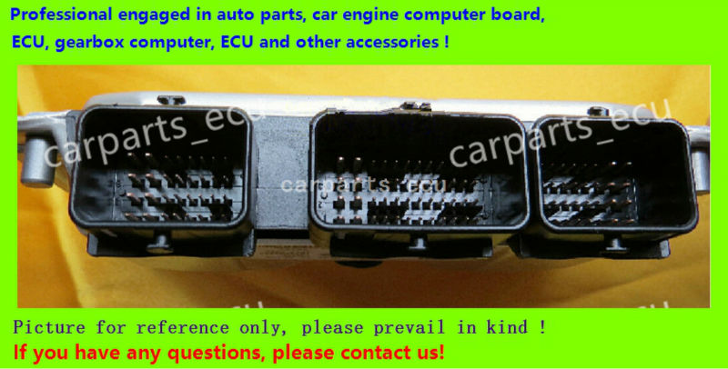 For Dongfeng Citroen Peugeot car engine computer board/ME7.4.5 ECU/Electronic Control Unit/0261S06646 9667295980 ME7.4.5|Car PC| |  - title=