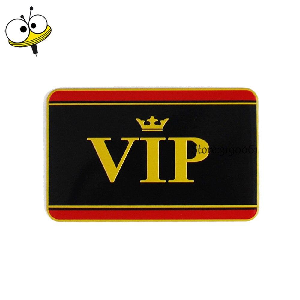 Car Styling Auto Car Sticker Emblem Badge Decal For VIP Logo For Lexus Infiniti Acura Alfa Romeo Corolla VW Golf Polo Nissan KIA