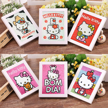 aceae1a68 Kuke New 5D Children's DIY Diamond Embroidery Cross Stitch Kit Hello Kitty  Diamond Painting With Frame Gifts for Kids
