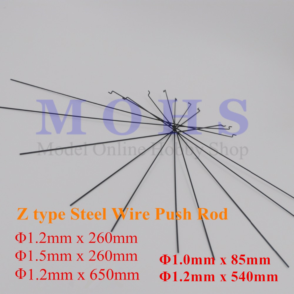 10 20pcs z type d 1mm d1 2mm d1 5mm push rod steel [ 1000 x 1000 Pixel ]