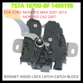 free shipping BONNET HOOD LOCK LATCH CATCH BLOCK for  FORD MONDEO MK4 2007-2014 MONDEO CA2 2007-   1490198   7S7A-16700-BF