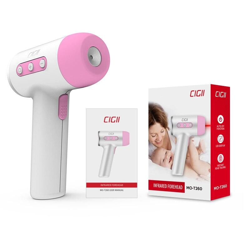Cigii светодио дный светодиодный дисплей Инфракрасный температурный тест для детского тела температурный тест умный голосовой вещательный ц...
