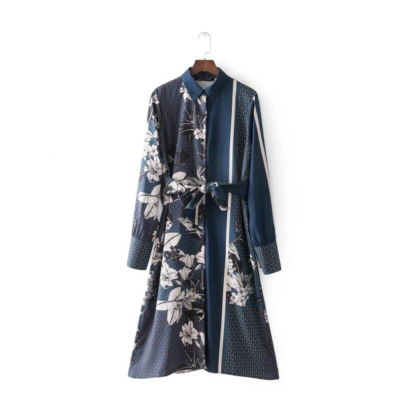 d0868c381eca2 Buy long sleeve shirtwaist dress and get free shipping on AliExpress.com