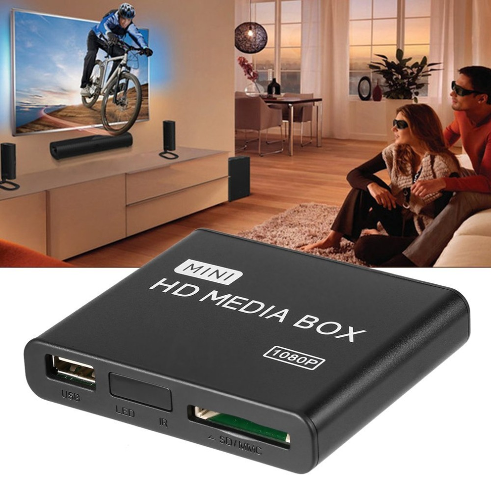 Mini Full 1080p HD Media Player Box MPEG/MKV/H.264 HDMI AV USB + Remote Support MKV / RM-SD / USB / SDHC / MMC HDD-HDMI drop AUMini Full 1080p HD Media Player Box MPEG/MKV/H.264 HDMI AV USB + Remote Support MKV / RM-SD / USB / SDHC / MMC HDD-HDMI drop AU