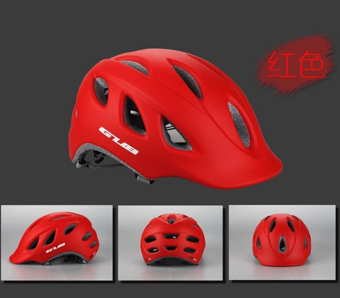 ФОТО GUB CITY Cycling Helmet MTB Road Bike Casco Ciclismo Safe Cap Men Women 18 Air Vents 57-60cm Bicycle Helmet