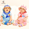 Spring Summer Baby Girl Rompers Cartoon Cotton 1 Piece Baby Boy Clothes Kids Jumpsuit Newborn Wear Bebes Short Sleeve Rompers