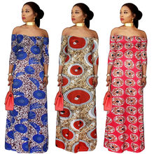 ff366d6d9 Traditional African Clothing 2018 New Cotton Women Hot Winter Fashion  Simple Strapless Collar Wrapped Chest Sexy Skirt Dress