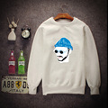 2017 new female round neck collar long sleeve sweatshirt man this killer is not too cold cotton loose hoodies man