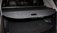 Kia Sorento tonneau cover / couvrant télescopique rideau / porte – bagages arrière auto accessoires de voiture, Deux couleurs, ( Toile / cuir ) 2008 – 2013